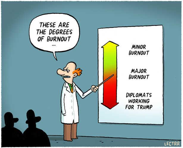 Image result for burnout cartoon