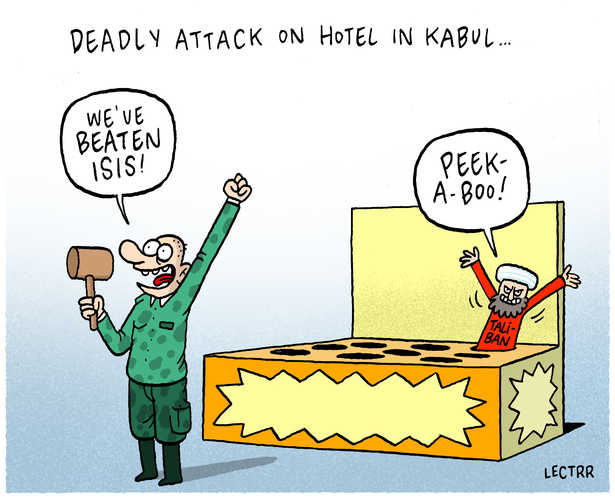 Deadly attack Kabul