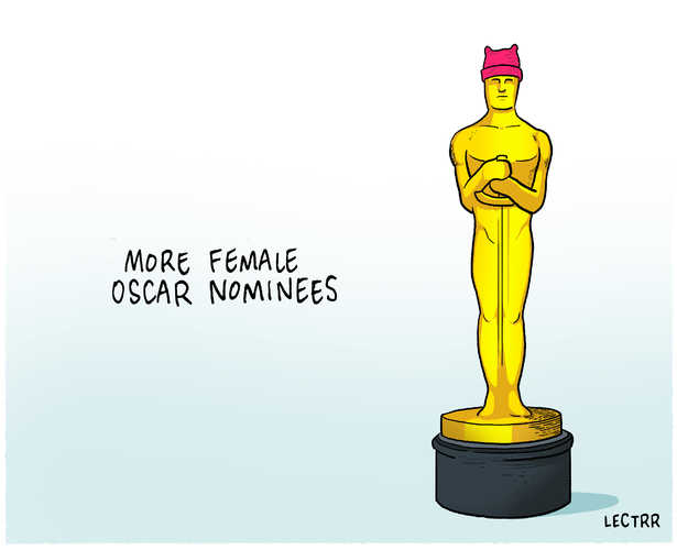 Female Oscar nominees