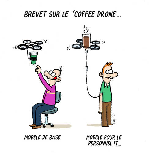 Coffee drone