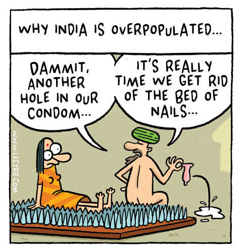 India overpopulated