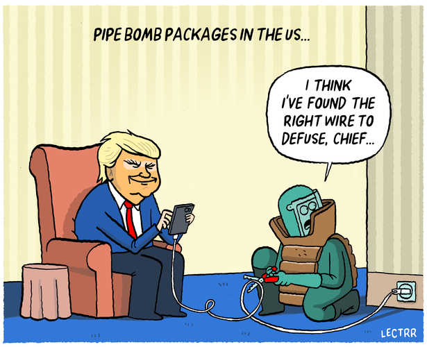 Pipe bomb packages