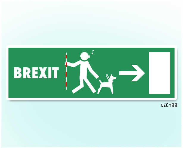 Brexit pictogram