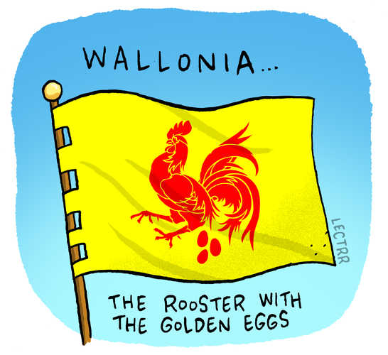 Wallonia Golden Eggs