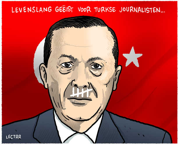 Turkse journalisten